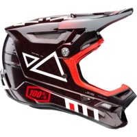 100% Aircraft Carbon Full Face MIPS Helmet - Jeromino Red
