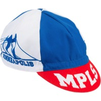 All-City Hennepin Bridge Cycling Cap - Red/White/Blue