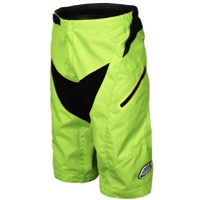 Troy Lee Moto Shorts 2017 - Flo Yellow