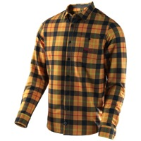 Troy Lee Grind Flannel 2017 - Plaid Yellow