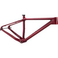 Heller Bloodhound Trail Carbon Frame - Matte Red
