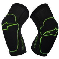 Alpinestars Paragon Knee Guards - Black/Green