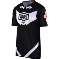 100% Airmatic Jersey - Jeromino Black