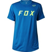 Fox Racing Flexair Moth Men's Knit T-Shirt - Maui Blue