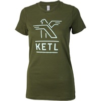 KETL Logo Women's T-Shirt - Avocado/Mint