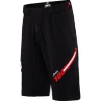 100% Airmatic Men's Shorts w/Liner - Jeromino Black