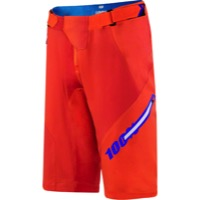 100% Airmatic Men's Shorts w/Liner - Blaze Orange