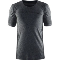 Craft Cool Comfort Men's Short Sleeve T-Shirt - Black Melange