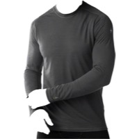 Smartwool PhD Ultra Light Men's Long Sleeve T-Shir - Charcoal