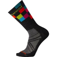 Smartwool PhD Cycle Ultra Light Logo Crew Socks - Black