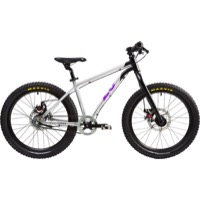 "Early Rider Belter Trail 3 20"" Complete Bike - Silver/Black/Purple"