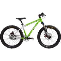 "Early Rider Belter Trail 3S 20"" Complete Bike - Silver/Lime"
