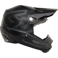 6D ATR-1Y Macro Full Face Youth Helmet - Matte Black