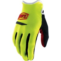 100% Ridecamp Gloves - Neon Yellow