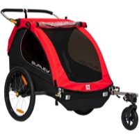 Burley Honey Bee Child Trailer - Red