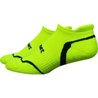 Defeet D-Evo Tabby Socks - Yellow/Black