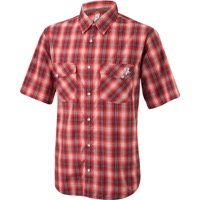 Race Face Shop Shirt - Gray/Red Plaid