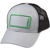 Surly Name Patch Trucker Hat - Gray/Green