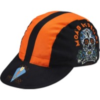 World Jerseys Moab Especial Cycling Cap - Black/Orange