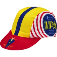 World Jerseys Moab Brewery Johnnys IPA Cycling Cap - White/Yellow/Red