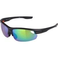 Optic Nerve Desoto Flip Off Sunglasses - Matte Black