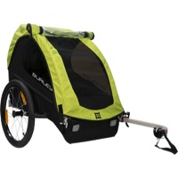 Burley Minnow Child Trailer - Green