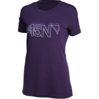45NRTH Northern Lights Women's Merino T-Shirt 2017 - Purple