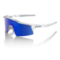 100% SpeedCraft SL Sunglasses - Aurora/Ice Blue Mirror Lens