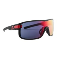 Adidas Zonyk Sunglasses - Matte Coal / Red Mirror Lens