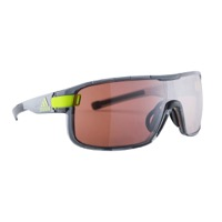 Adidas Zonyk Sunglasses - Grey/Transparent / LST Active Silver Lens