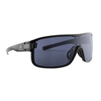 Adidas Zonyk Sunglasses - Black Shiny / Grey Lens