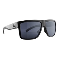 Adidas 3matic Sunglasses - Shiny Black / Grey Polarized Lens