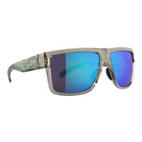Adidas 3matic Sunglasses - Clearbrown Camo / Blue Mirror Lens