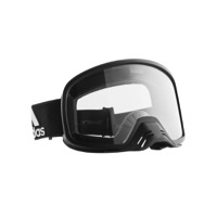 Adidas Backland Dirt Goggles - Matte Black / Clear Lens