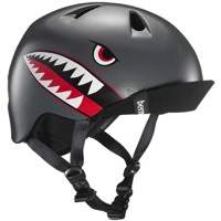 Bern Nino Helmet 2017 - Satin Grey Flying Tiger