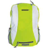 Cycle Aware Reflective Folding Backpack - Neon green