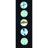 Cycle Aware Pin Ups Reflective Velo Pins