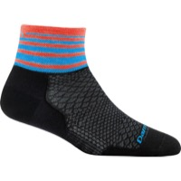 Darn Tough 1/4 Ultra-Light Women's Socks - Stripe Black