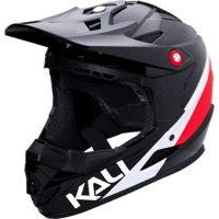 Kali Protectives Zoka Helmet - Pinner Gloss Black/Blue/White