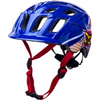 Kali Protectives Chakra Child Helmets - Pow Blue/Red