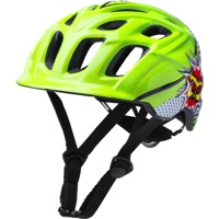 Kali Protectives Chakra Child Helmets - Pow Green/Black