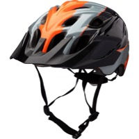 Kali Protectives Chakra Youth Helmets - Sublime Black/Orange