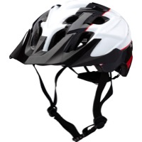 Kali Protectives Chakra Youth Helmets - Sublime Black/Red