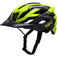 Kali Protectives Lunati Helmet - Shade Matte Black/Fluorescent Yellow