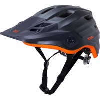Kali Protectives Maya Helmet - Matte Gunmetal/Orange