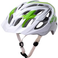 Kali Protectives Chakra Plus Helmet - Sonic White/Green