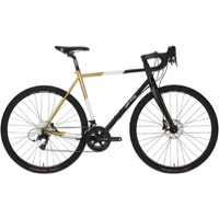 All-City Cosmic Stallion Complete Bike - Black/White/Gold