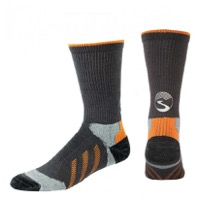 Showers Pass Reflective Torch Wool Crew Socks - Charcoal