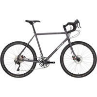 "Surly Disc Trucker 26"" Complete Bike - Bituminous Gray - 10 Speed"
