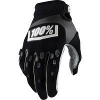 100% Airmatic Gloves 2018 - Black